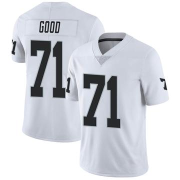 Men's Nike Las Vegas Raiders Denzelle Good White Vapor Untouchable Jersey - Limited