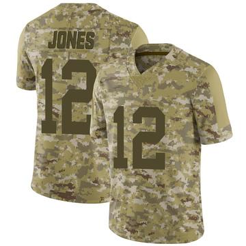 Men's Las Vegas Raiders Zay Jones Camo 2018 Salute to Service Jersey - Limited