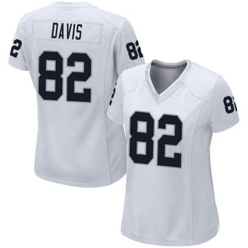 Women's Nike Las Vegas Raiders Al Davis White Jersey - Game