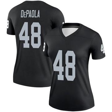Women's Nike Las Vegas Raiders Andrew DePaola Black Jersey - Legend