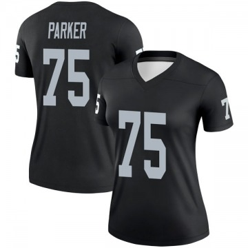 Women's Nike Las Vegas Raiders Brandon Parker Black Jersey - Legend