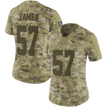 Women's Nike Las Vegas Raiders Cory James Camo 2018 Salute to Service Jersey - Limited