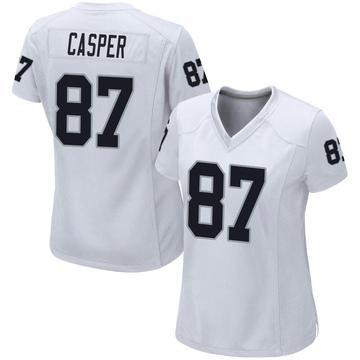 Women's Nike Las Vegas Raiders Dave Casper White Jersey - Game