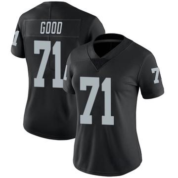 Women's Nike Las Vegas Raiders Denzelle Good Black 100th Vapor Jersey - Limited