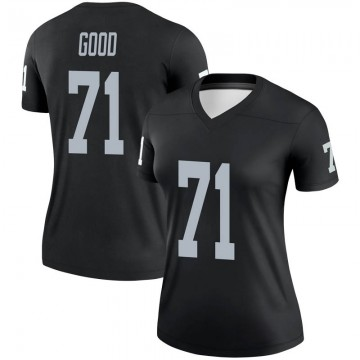 Women's Nike Las Vegas Raiders Denzelle Good Black Jersey - Legend