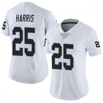 Women's Nike Las Vegas Raiders Erik Harris White Vapor Untouchable Jersey - Limited