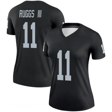 Women's Nike Las Vegas Raiders Henry Ruggs III Black Jersey - Legend