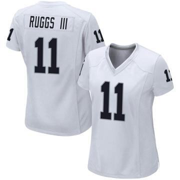 Women's Nike Las Vegas Raiders Henry Ruggs III White Jersey - Game