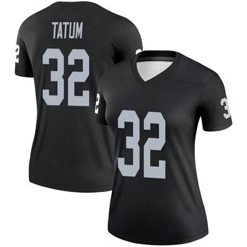 Women's Nike Las Vegas Raiders Jack Tatum Black Jersey - Legend