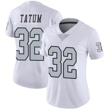 Women's Nike Las Vegas Raiders Jack Tatum White Color Rush Jersey - Limited