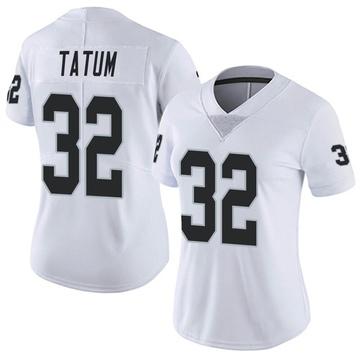 Women's Nike Las Vegas Raiders Jack Tatum White Vapor Untouchable Jersey - Limited