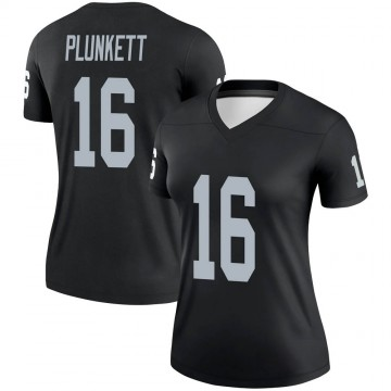 Women's Nike Las Vegas Raiders Jim Plunkett Black Jersey - Legend