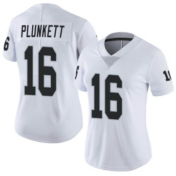Women's Nike Las Vegas Raiders Jim Plunkett White Vapor Untouchable Jersey - Limited