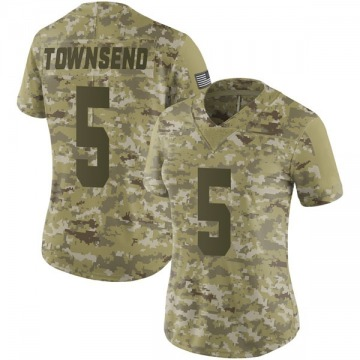 Women's Nike Las Vegas Raiders Johnny Townsend Camo 2018 Salute to Service Jersey - Limited