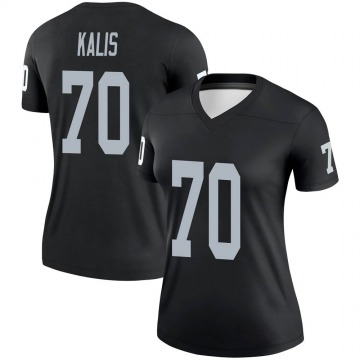 Women's Nike Las Vegas Raiders Kyle Kalis Black Jersey - Legend
