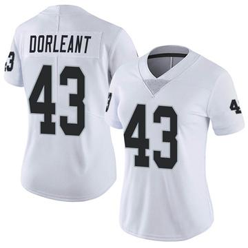 Women's Nike Las Vegas Raiders Makinton Dorleant White Vapor Untouchable Jersey - Limited