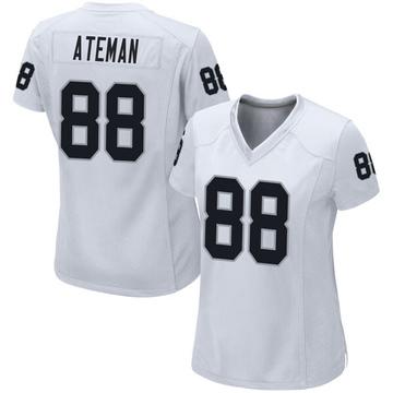 Women's Nike Las Vegas Raiders Marcell Ateman White Jersey - Game