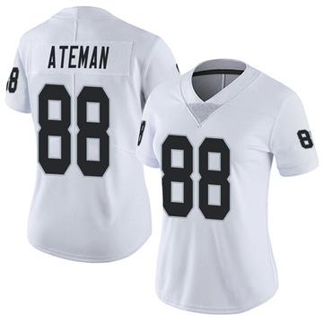 Women's Nike Las Vegas Raiders Marcell Ateman White Vapor Untouchable Jersey - Limited