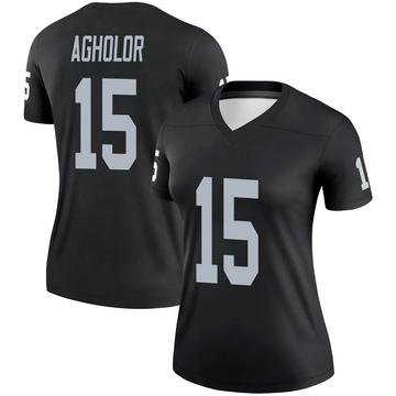Women's Nike Las Vegas Raiders Nelson Agholor Black Jersey - Legend