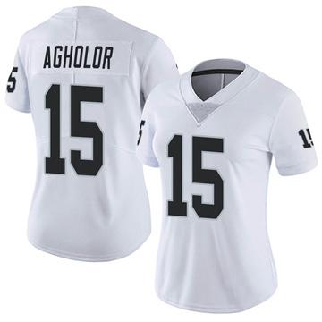 Women's Nike Las Vegas Raiders Nelson Agholor White Vapor Untouchable Jersey - Limited