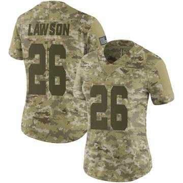 Women's Nike Las Vegas Raiders Nevin Lawson Camo 2018 Salute to Service Jersey - Limited