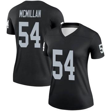 Women's Nike Las Vegas Raiders Raekwon McMillan Black Jersey - Legend