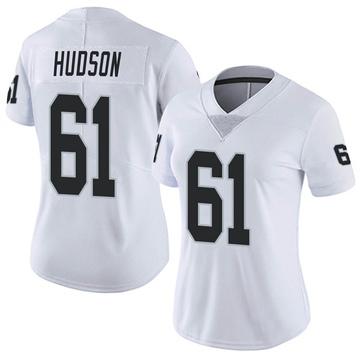 Women's Nike Las Vegas Raiders Rodney Hudson White Vapor Untouchable Jersey - Limited