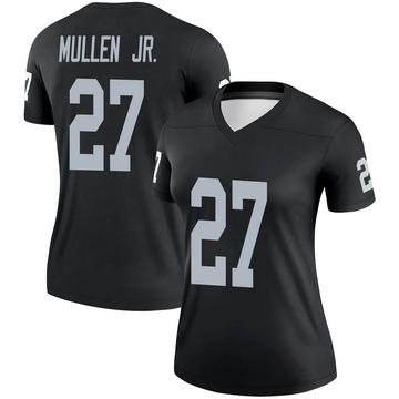 Women's Nike Las Vegas Raiders Trayvon Mullen Black Jersey - Legend