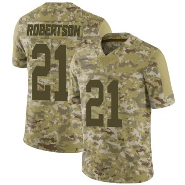 Youth Nike Las Vegas Raiders Amik Robertson Camo 2018 Salute to Service Jersey - Limited