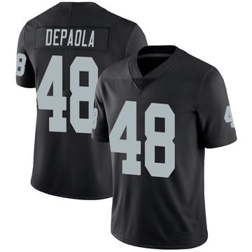 Youth Nike Las Vegas Raiders Andrew DePaola Black Team Color Vapor Untouchable Jersey - Limited
