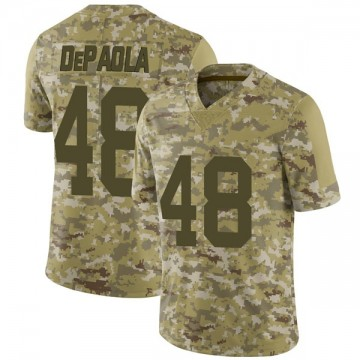 Youth Nike Las Vegas Raiders Andrew DePaola Camo 2018 Salute to Service Jersey - Limited