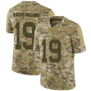 Youth Nike Las Vegas Raiders Anthony Ratliff-Williams Camo 2018 Salute to Service Jersey - Limited