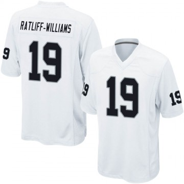 Youth Nike Las Vegas Raiders Anthony Ratliff-Williams White Jersey - Game