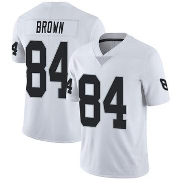 Youth Nike Las Vegas Raiders Antonio Brown White Vapor Untouchable Jersey - Limited