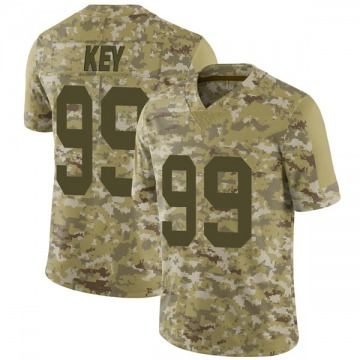 Youth Nike Las Vegas Raiders Arden Key Camo 2018 Salute to Service Jersey - Limited