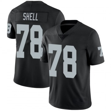 Youth Nike Las Vegas Raiders Art Shell Black Team Color Vapor Untouchable Jersey - Limited