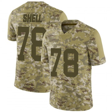 Youth Nike Las Vegas Raiders Art Shell Camo 2018 Salute to Service Jersey - Limited