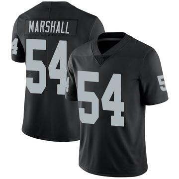 Youth Nike Las Vegas Raiders Brandon Marshall Black 100th Vapor Jersey - Limited