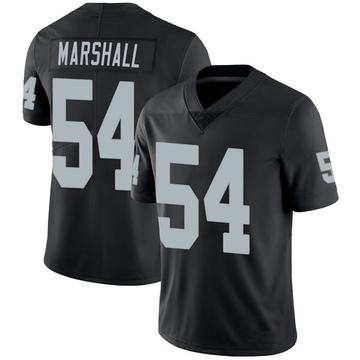 Youth Nike Las Vegas Raiders Brandon Marshall Black Team Color Vapor Untouchable Jersey - Limited