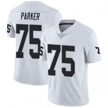 Youth Nike Las Vegas Raiders Brandon Parker White Vapor Untouchable Jersey - Limited