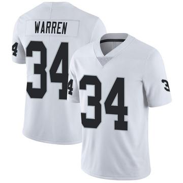 Youth Nike Las Vegas Raiders Chris Warren White Vapor Untouchable Jersey - Limited