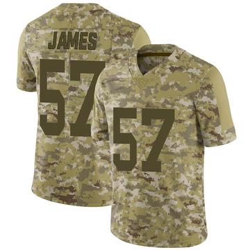 Youth Nike Las Vegas Raiders Cory James Camo 2018 Salute to Service Jersey - Limited