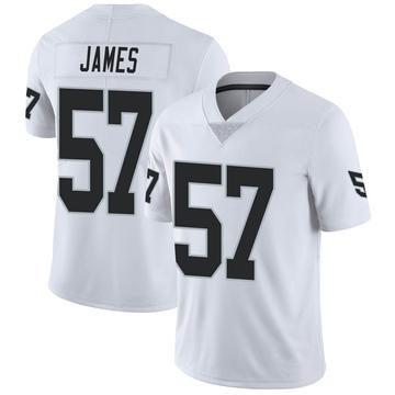 Youth Nike Las Vegas Raiders Cory James White Vapor Untouchable Jersey - Limited