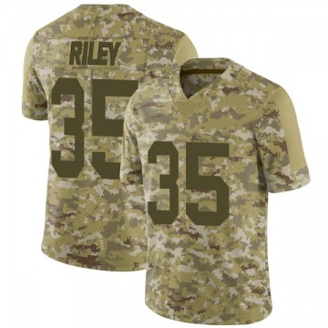 Youth Nike Las Vegas Raiders Curtis Riley Camo 2018 Salute to Service Jersey - Limited
