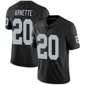Youth Nike Las Vegas Raiders Damon Arnette Black Team Color Vapor Untouchable Jersey - Limited