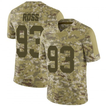 Youth Nike Las Vegas Raiders Daniel Ross Camo 2018 Salute to Service Jersey - Limited