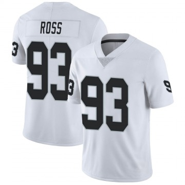 Youth Nike Las Vegas Raiders Daniel Ross White Vapor Untouchable Jersey - Limited