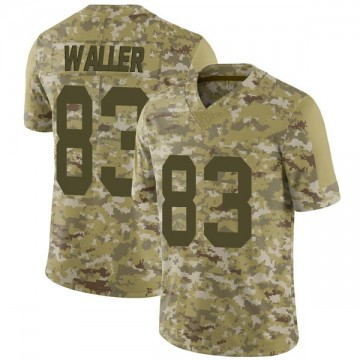 Youth Nike Las Vegas Raiders Darren Waller Camo 2018 Salute to Service Jersey - Limited
