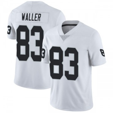 Youth Nike Las Vegas Raiders Darren Waller White Vapor Untouchable Jersey - Limited