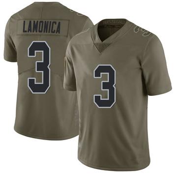 Youth Nike Las Vegas Raiders Daryle Lamonica Green 2017 Salute to Service Jersey - Limited